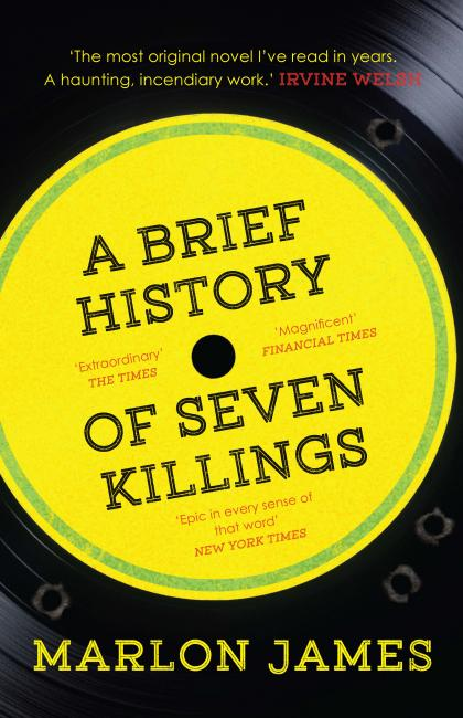A brief history of seven killings cover