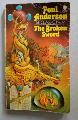 The broken sword cover