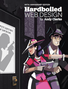 Hardboiled web design cover